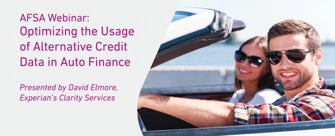 Webinar auto finance