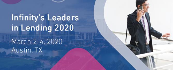 Infinity's Leaders in Lending 2020